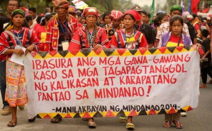 From Mindanao to Manila