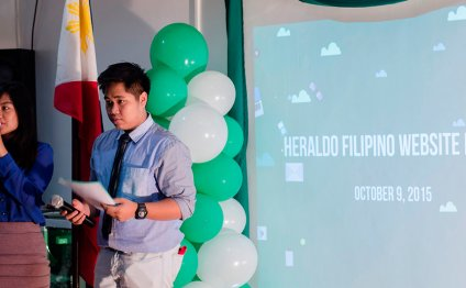 Heraldo Filipino website