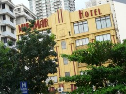 Exterior of the Miramar Hotel, Manila