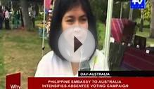 Philippine embassy to Australia intensifies absentee