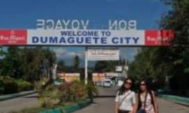Welcome to Dumaguete City | Photo by Frida Dei Inolino